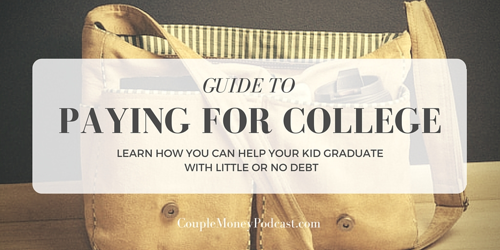 paying for your child's college expenses podcast