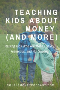 Ron Lieber from the NY Times shows how to raise money smart kids who are generous.
