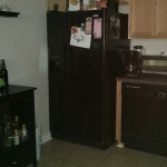 bad fridge location