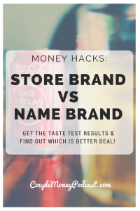 Want your grocery money go further without sacrificing quality? Len Penzo shares his taste test results with store brands versus name brands!