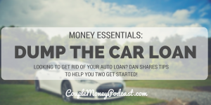 Learn from Dan Miller how you two can dump the car loan and start buying your next one with cash!