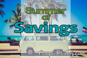 Take the Summer of Savings Challenge and sock away $1,000 . Tons of tips on cutting back and earning more.