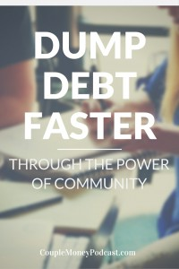 Learn how you can pay off your debt faster by building a community. Toni Husbands from Debt Free Divas gives your the tips and free tools you can use.