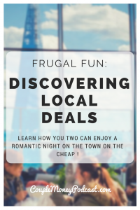Have an awesome date night without breaking the bank! Learn how you to can score deals the next time you're out.