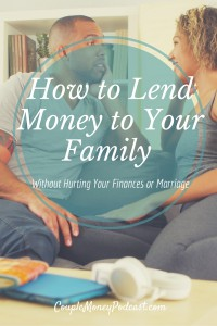What's the key to lending money to family? Dorethia Kelly from Money Chat shares ways you can give to your loved ones without hurting your finances or marriage.