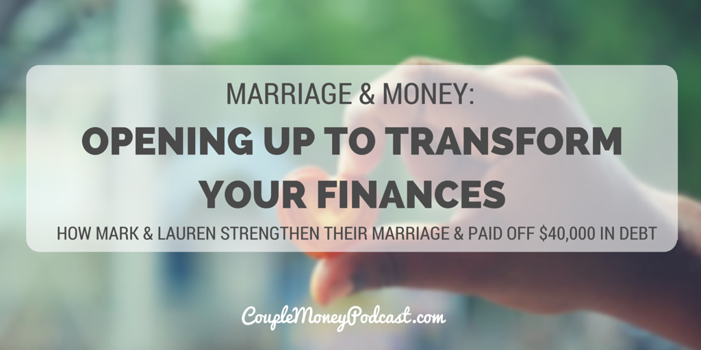 How to open up about finances couple money podcast