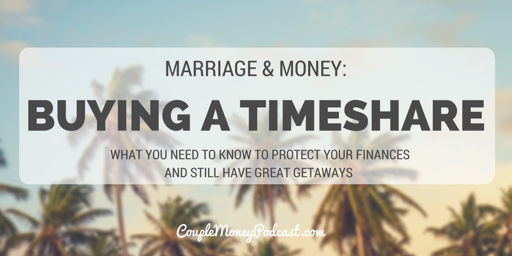 TIMESHARE couple money podcast
