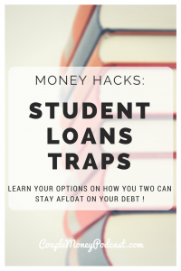 Drowning from all your student loans? Jay Fleischman, an attorney who specializes in student loans and bankruptcy, goes over different options to help the two of you stay afloat!