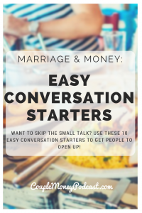 Want to skip the small talk? Use these 10 easy conversation starters to get people to open up!