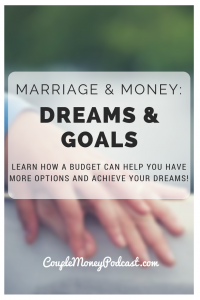 Tired of living paycheck to paycheck? Learn how a budget can help you two have more options and achieve your dreams!