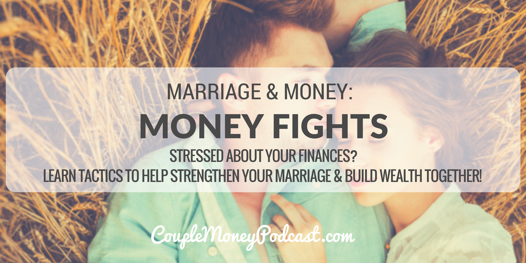 Stressed out over your money fights? Learn tactics to help strengthen your marriage by working through your issues and becoming smarter about how you approach finances as a couple!