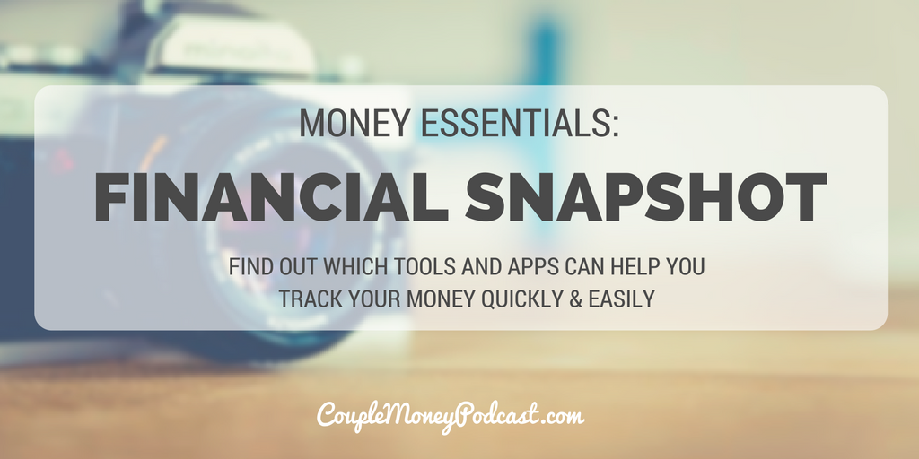 financial tracking couple money podcast