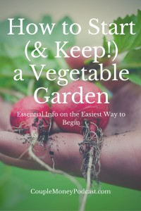 Starting a vegetable garden,but don't know where to begin? Learn what tools you need and which vegetables and fruits are the easiest to grow.