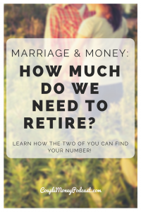 Learn how you two can figure out how much you need for your nest egg!