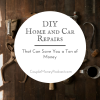 Mike & Lauren show how DIY home and car repairs can save you a ton of money. Learn what tools you need and which projects to start out with, no matter your skills.