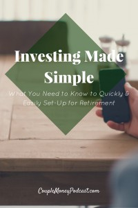 Want to easily set-up your retirement accounts without having to stress over it? Certified Financial Planner and author Mike Piper shares how index investing can help your acheive your investing goals.