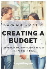 Budgeting together isn't always easy. Jessi Fearon, author and creator of The Budget Mama, shares her story and tips for how to successfully budget as a couple!